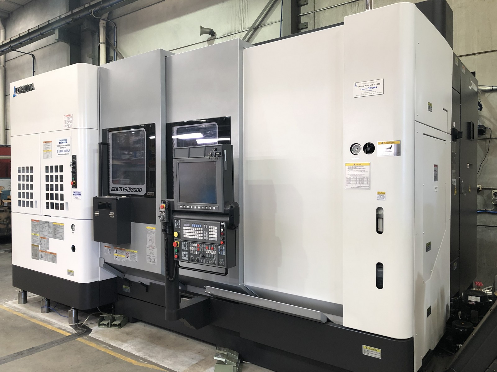 New generation of CNC Machine arrived at W&E Platt